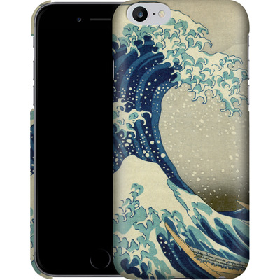 Apple iPhone 6 Plus Smartphone Huelle - Great Wave Off Kanagawa By Hokusai von caseable Designs