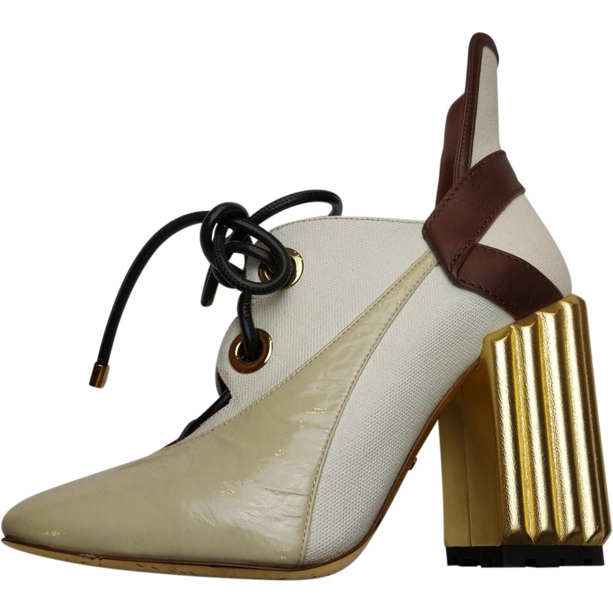 Dior \N Multicolour Leather Heels for Women 38 EU