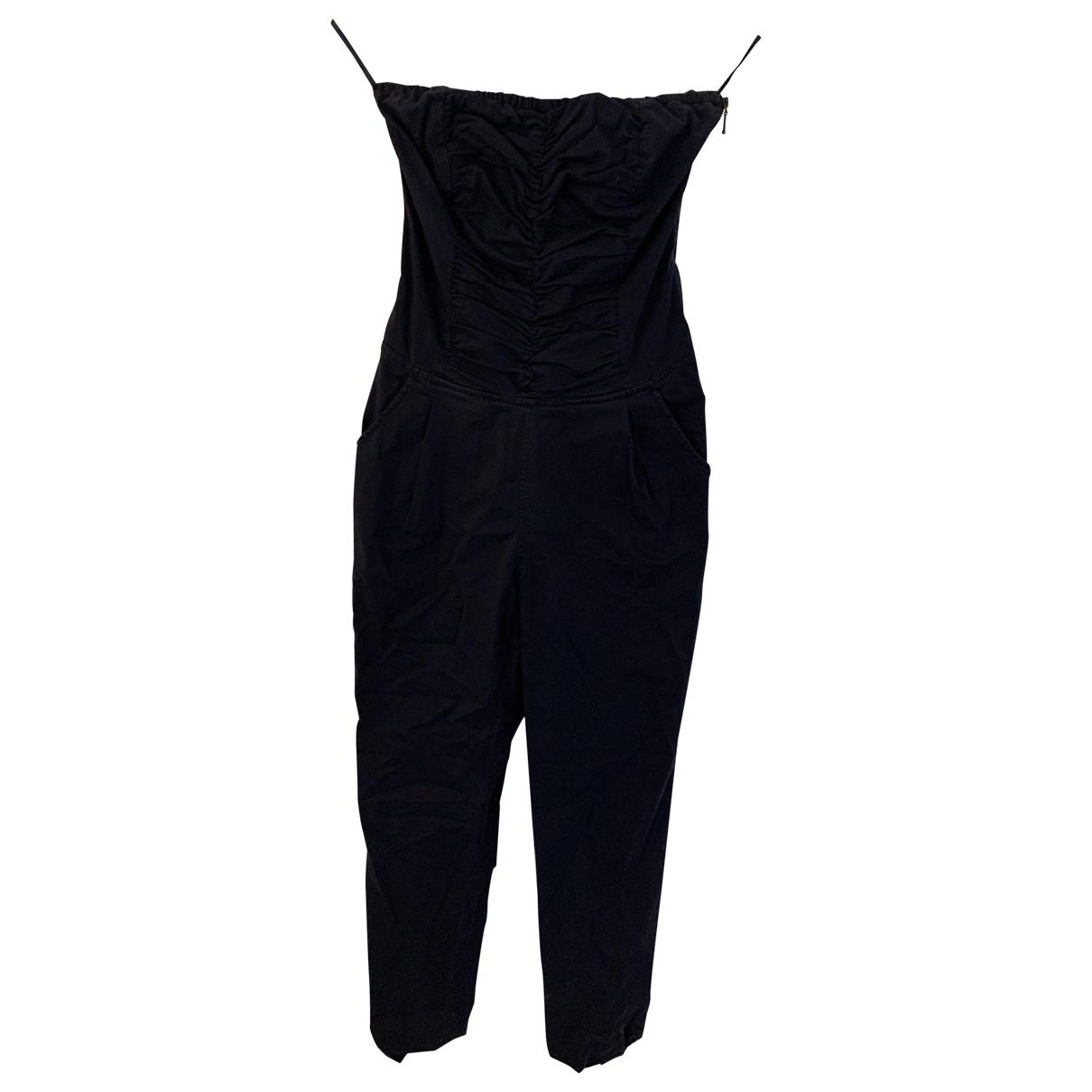 Guess \N Blue Cotton jumpsuit for Women S International
