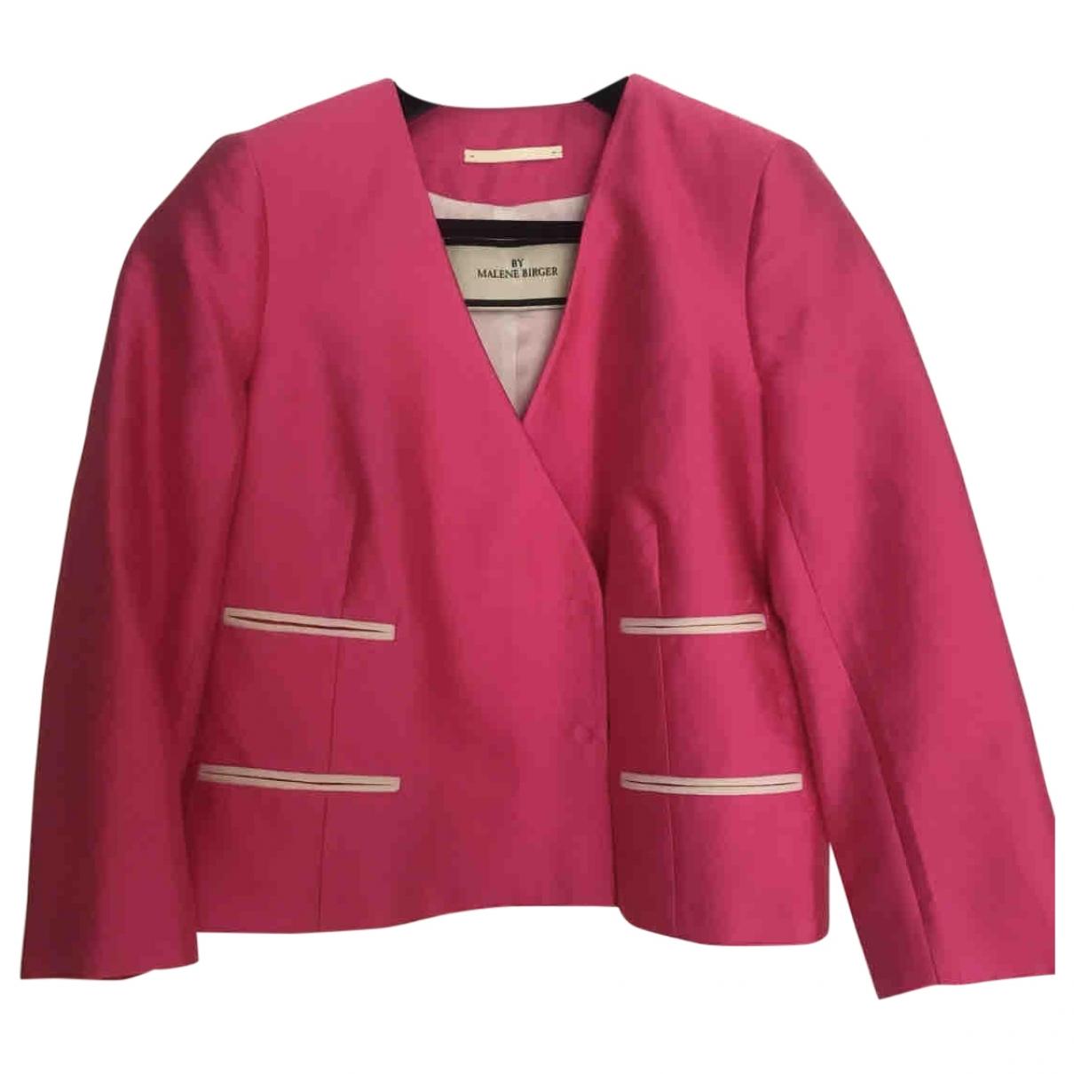 By Malene Birger - Veste   pour femme en soie - rose