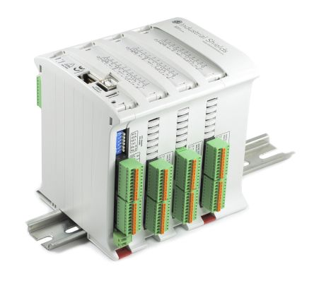 Industrial Shields M-Duino PLC CPU - 36 Inputs, 22 Outputs, Ethernet, ModBus Networking, Computer Interface