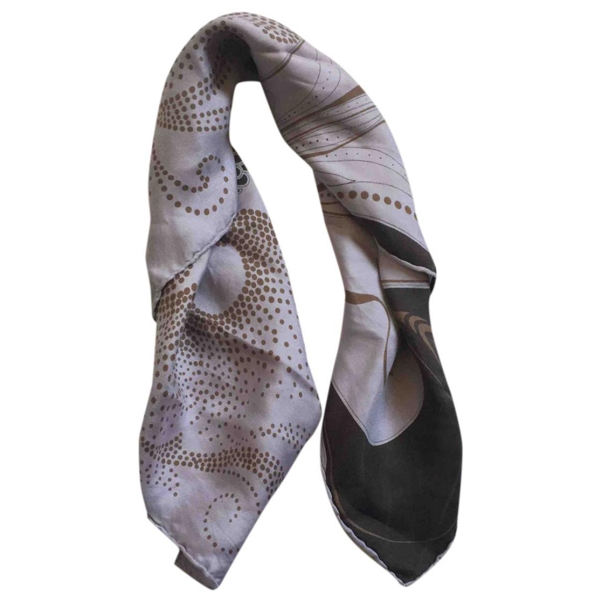 Gucci \N Grey Silk Silk handkerchief for Women \N