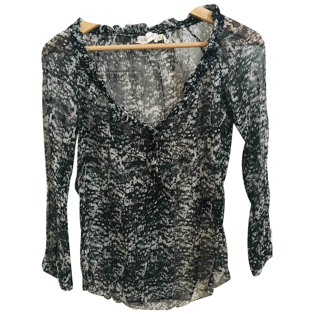 Isabel Marant Etoile \N Black Silk  top for Women 36 FR
