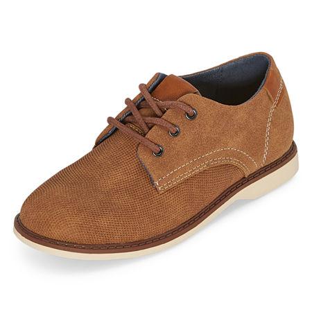 Arizona Little Kid/Big Kid Boys Elliot Oxford Shoes, 11 Medium, Brown