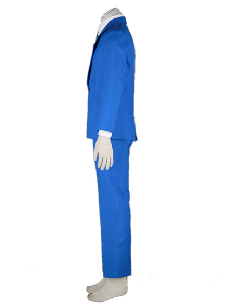 Milanoo Halloween Uniforme Escolar Detective Conan Case Closed Jimmy Kudo Kudou Shinichi Halloween Cosplay Disfraz