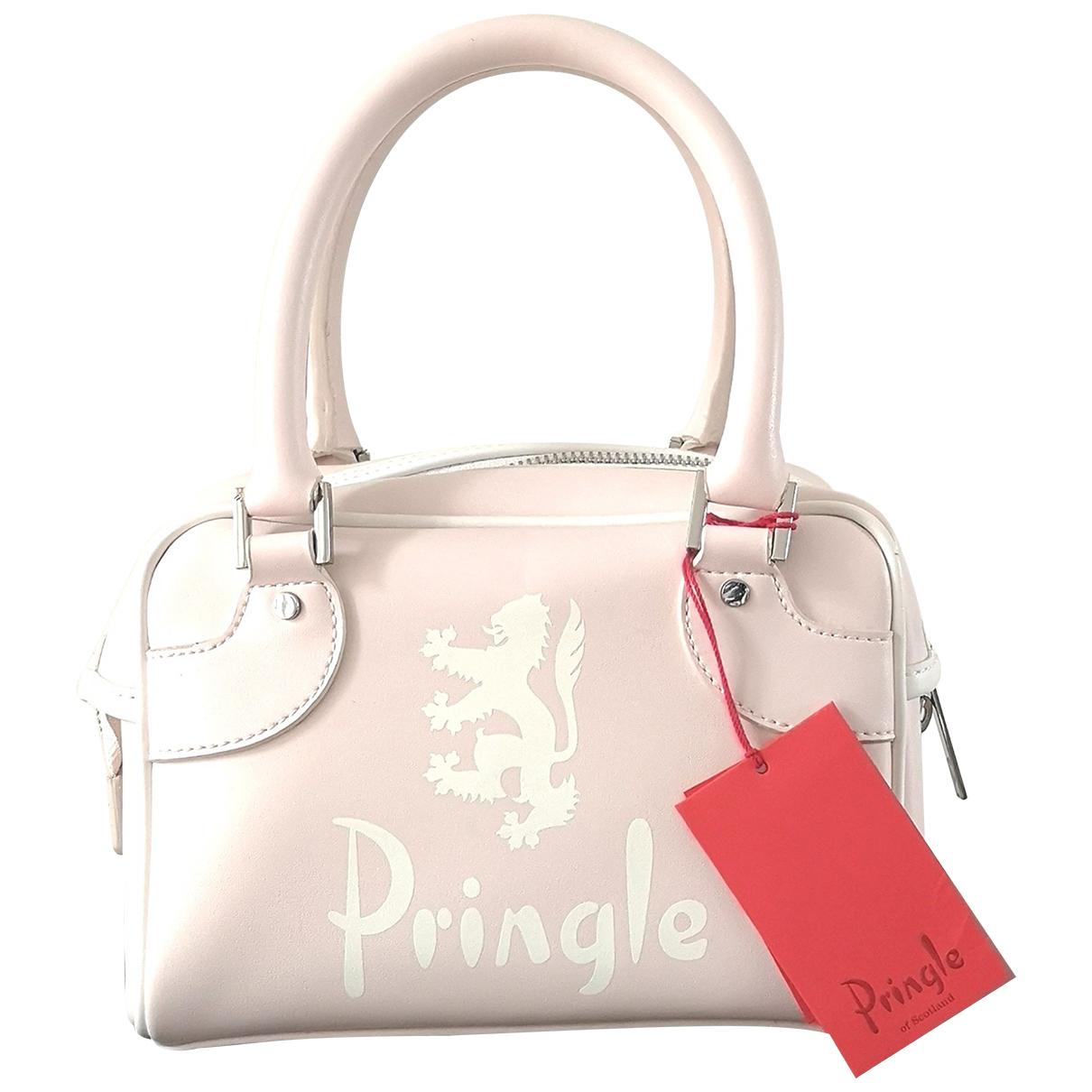 Pringle Of Scotland N Pink Patent leather handbag for Women N