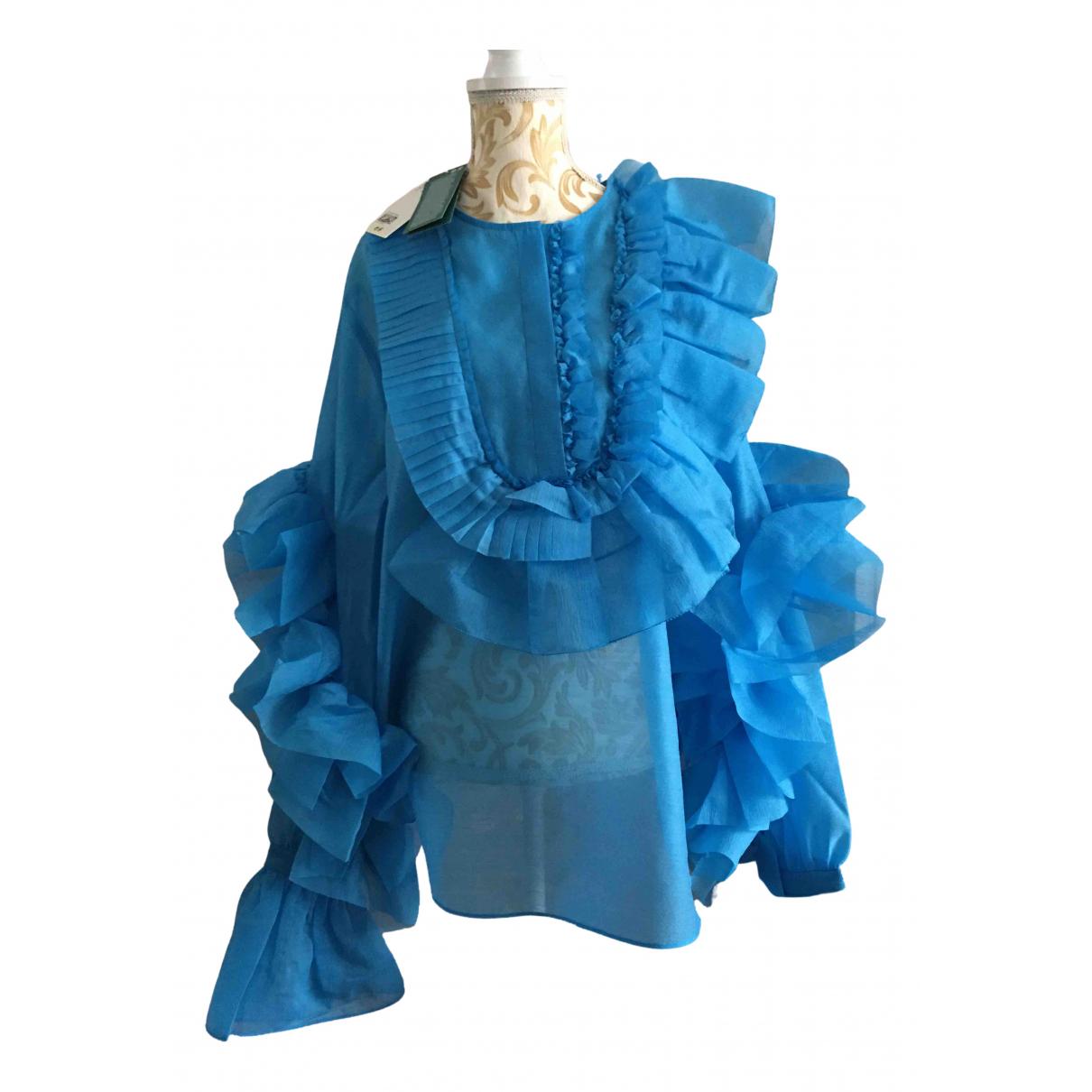 H&m Studio - Top   pour femme - bleu