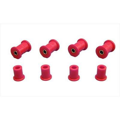 Prothane Motion Control Leaf Spring Eye/Shackle Bushing Kit (Red) - 18-1006