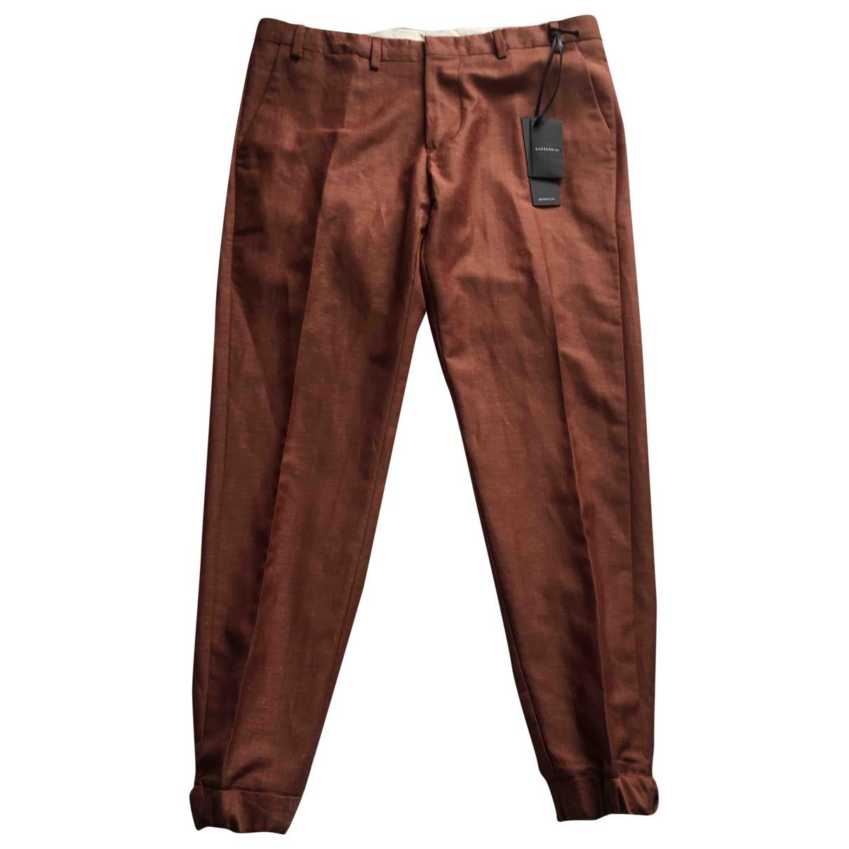 Pantalon de Lana Non Signe / Unsigned