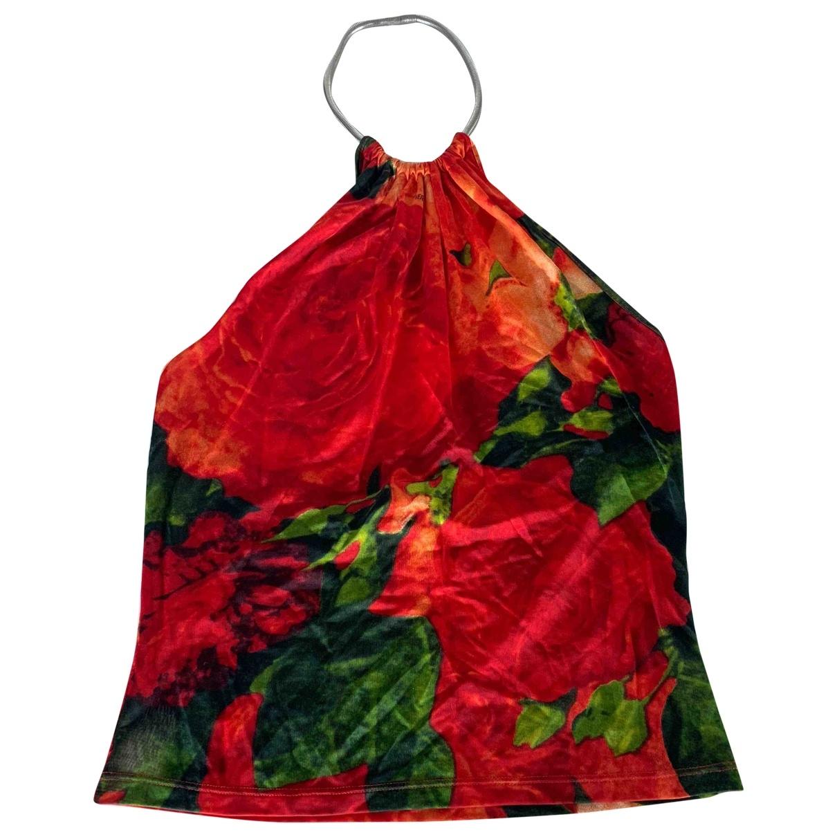 Versace \N Top in  Rot Synthetik