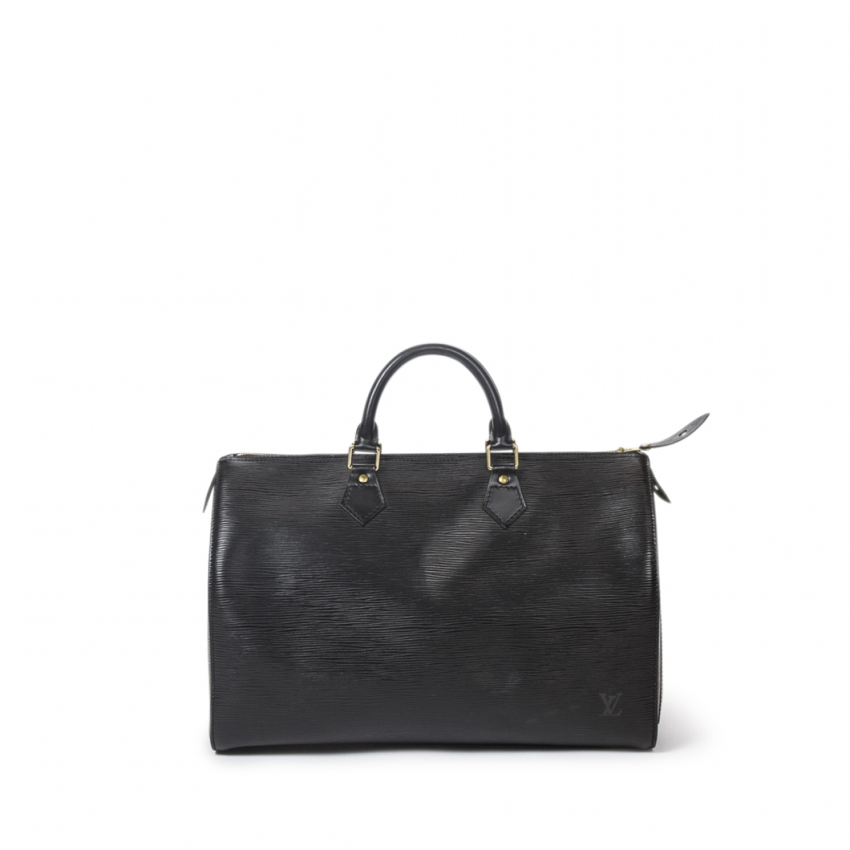 Louis Vuitton Speedy Black Leather handbag for Women \N