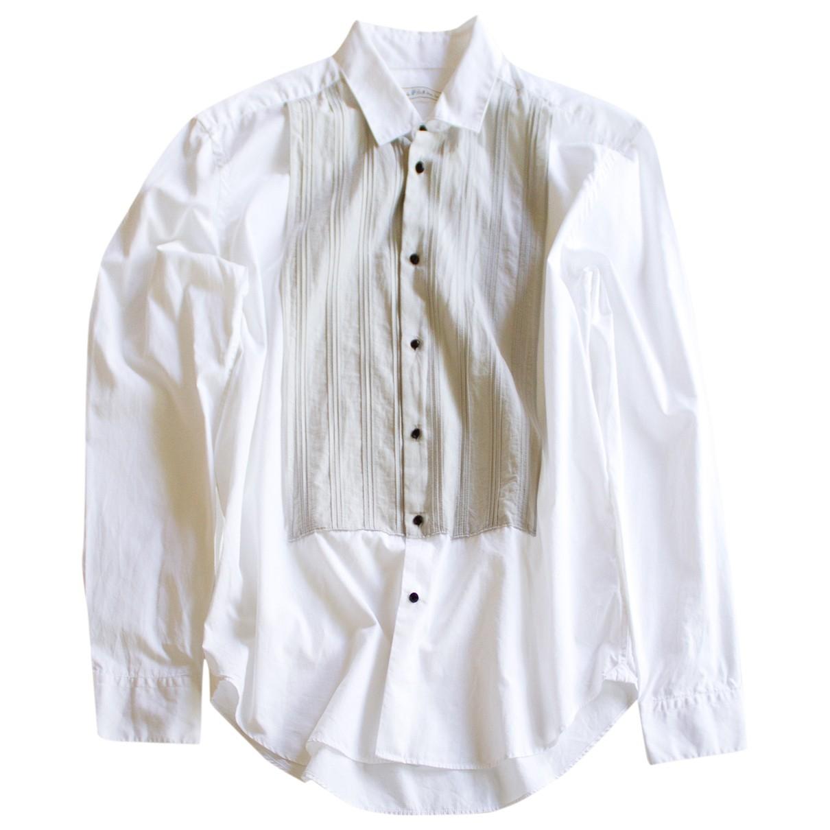 Lanvin For H&m \N Hemden in  Weiss Baumwolle