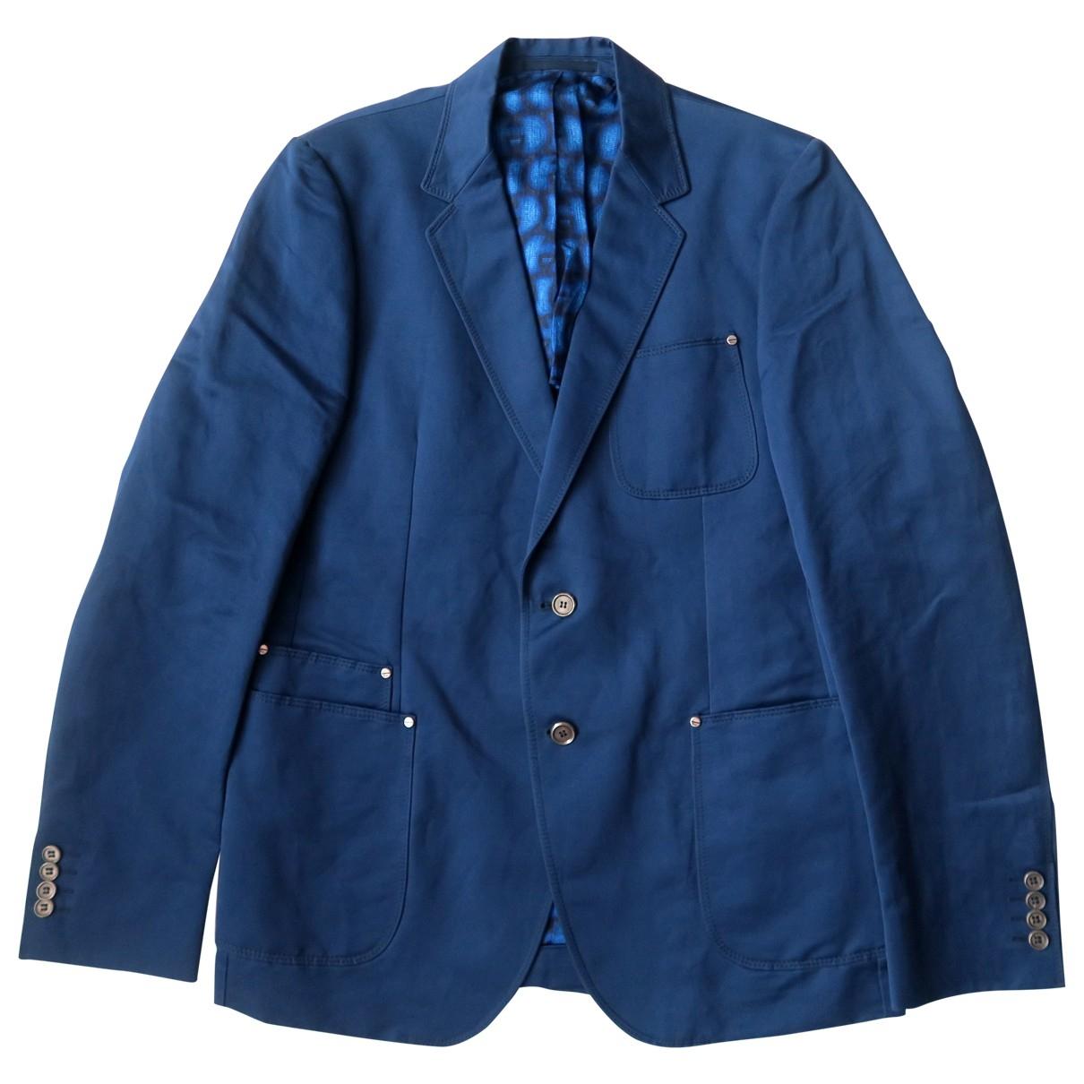 Gucci - Vestes.Blousons   pour homme en coton - bleu
