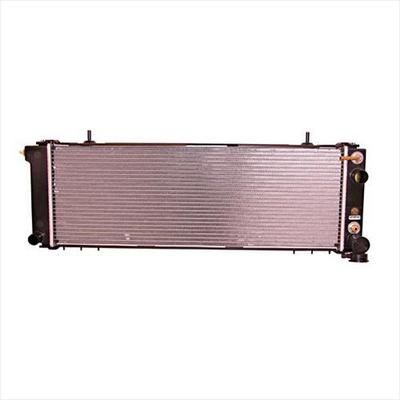 Omix-ADA Replacement 2 Row Radiator for 4.0L 6 Cylinder Engine with Automatic Transmission - 17101.35