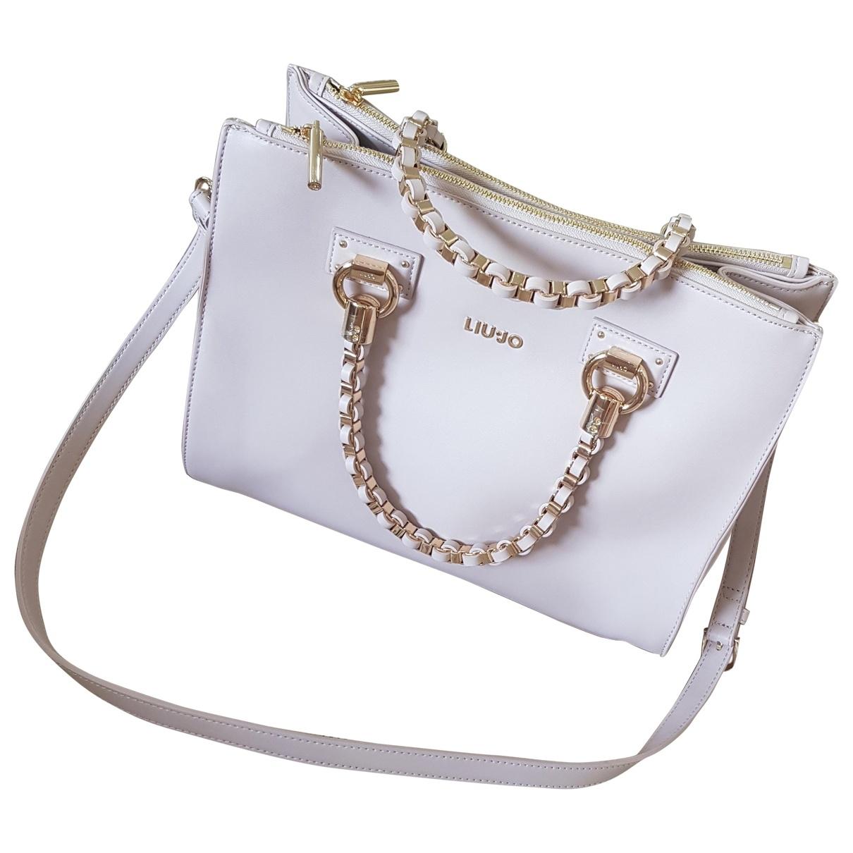 Liu.jo \N Pink Leather handbag for Women \N