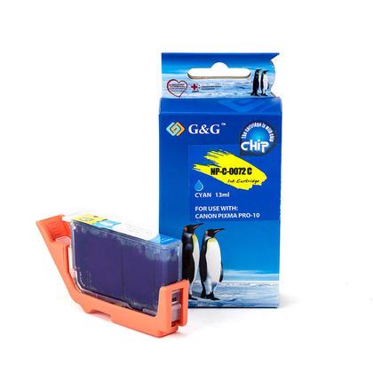 Compatible Canon PGI-72C cartouche d'encre cyan - G&G
