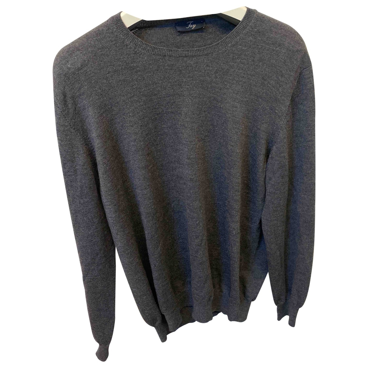 Fay \N Pullover.Westen.Sweatshirts  in  Grau Wolle