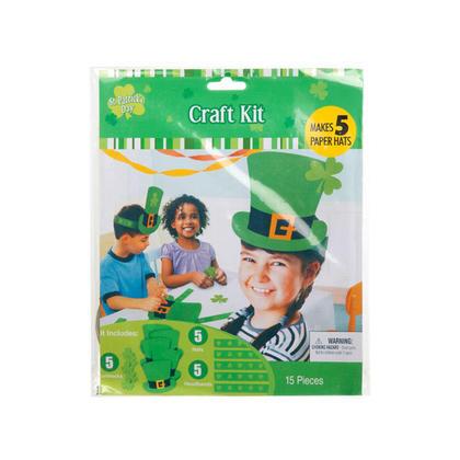 St.Patrick D.I.Y Paper Hats 5Pcs/Pack