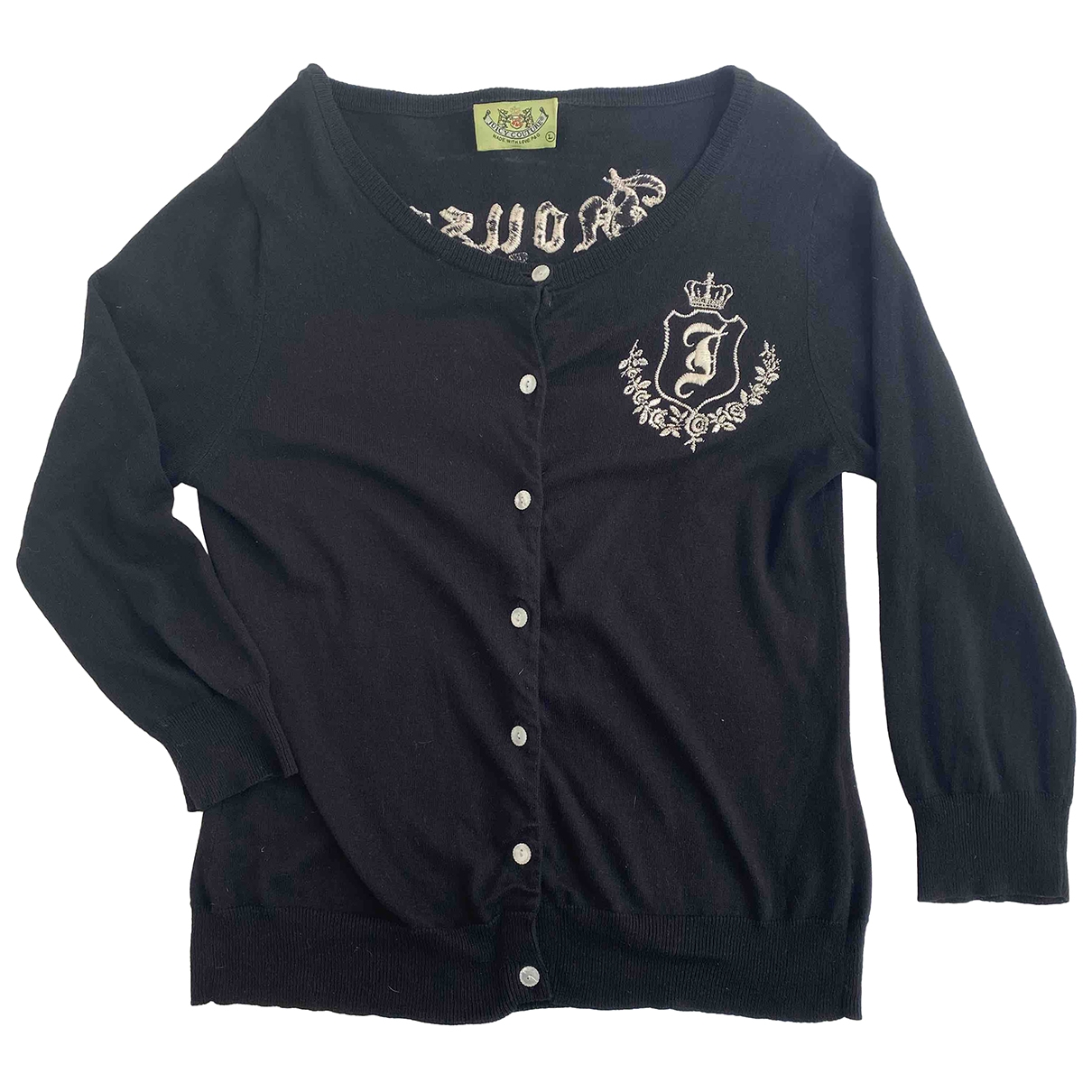 Juicy Couture \N Pullover in  Schwarz Seide