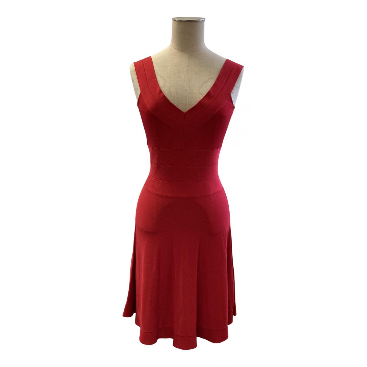 Emporio Armani - Robe   pour femme - rouge