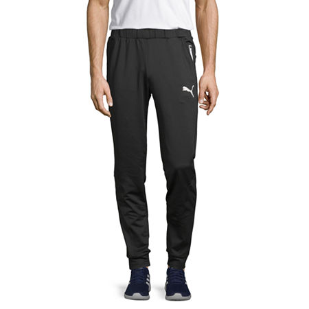 Puma Mens Regular Fit Ready To Go Jogger Pant, Small , Black