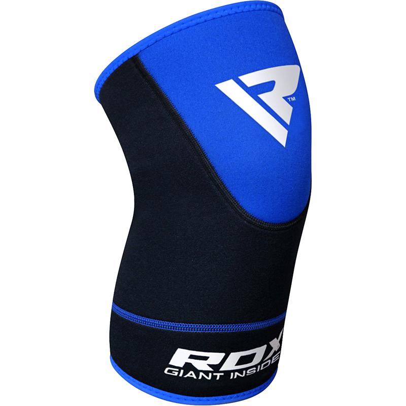 RDX Neoprene Kniebandage 2XL Blau