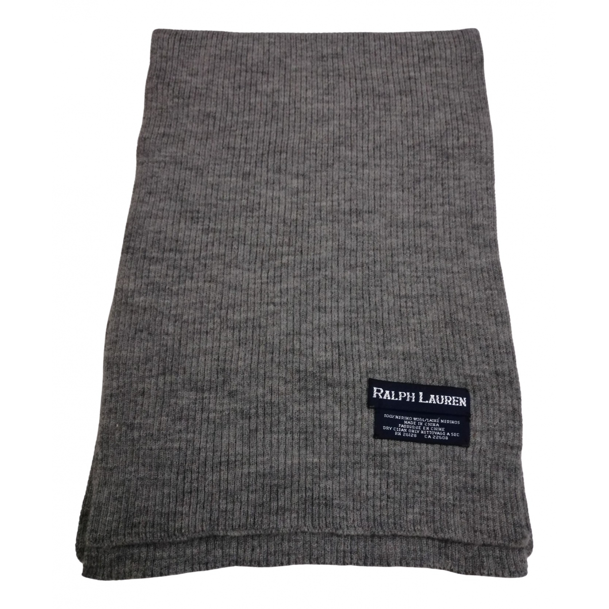 Ralph Lauren \N Grey Wool scarf for Women \N