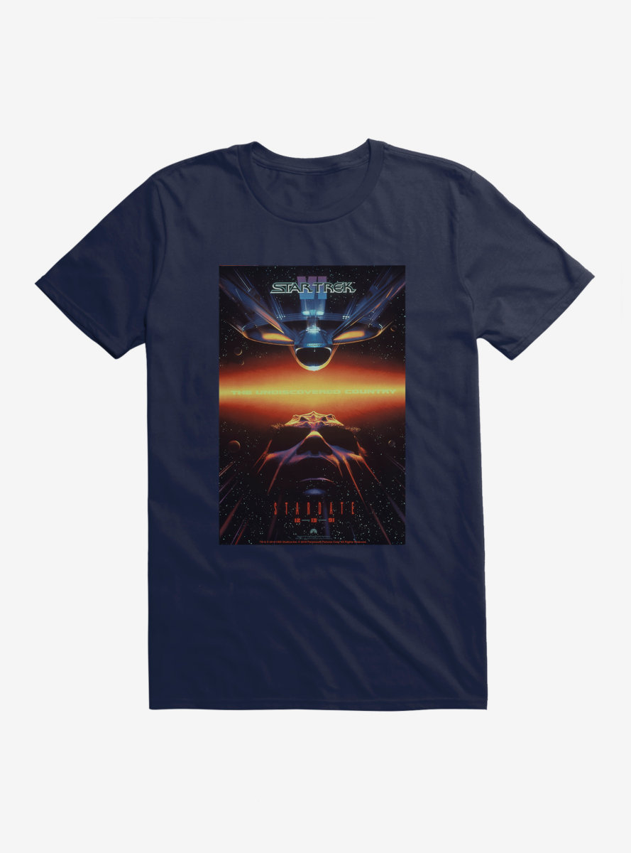 Star Trek The Undiscovered Country Poster T-Shirt