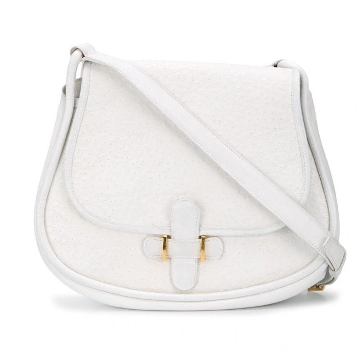 Hermes \N Handtasche in  Weiss Leder