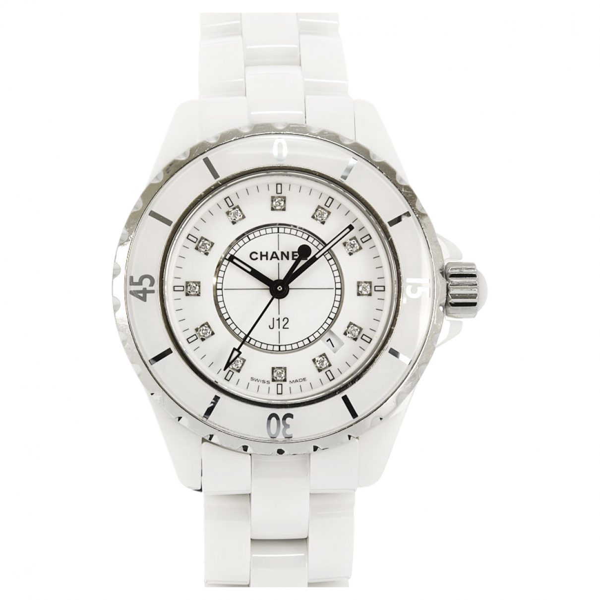 Chanel J12 Quartz White Ceramic watch for Women \N