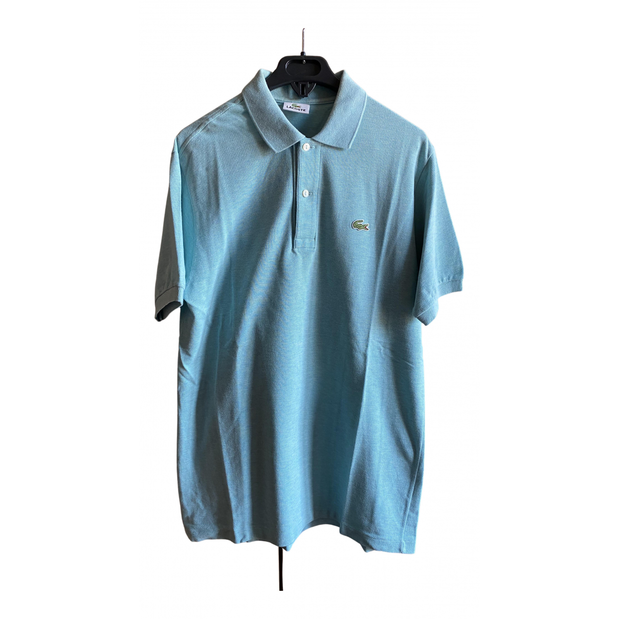 Lacoste N Turquoise Cotton Polo shirts for Men L International