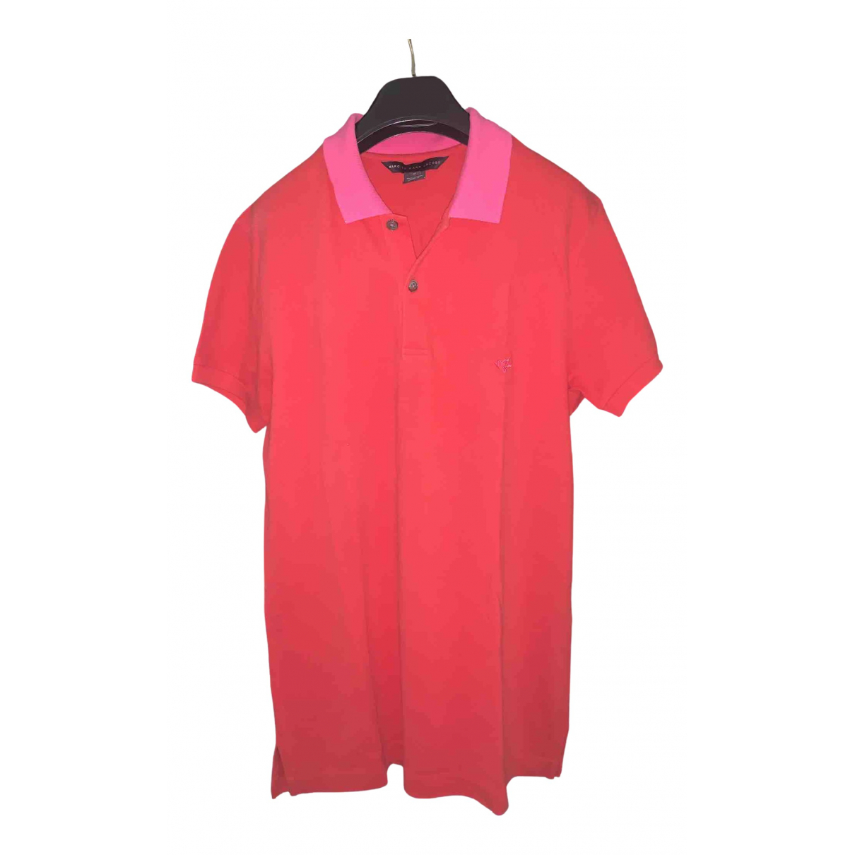 Marc By Marc Jacobs N Red Cotton Polo shirts for Men M International
