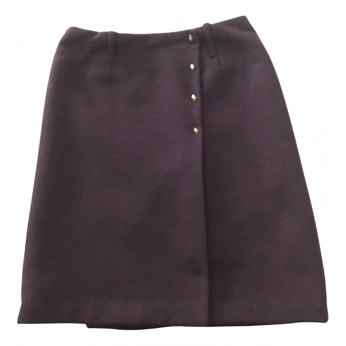 Ballantyne - Jupe   pour femme en laine - violet
