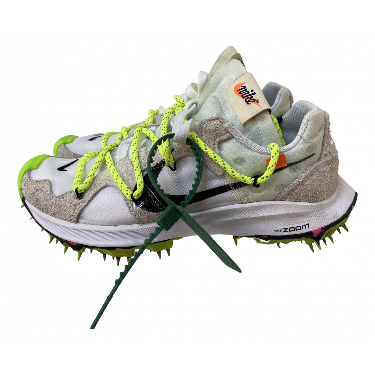 Nike X Off-white Zoom Terra Kiger 5 White Cloth Trainers for Women 4 UK