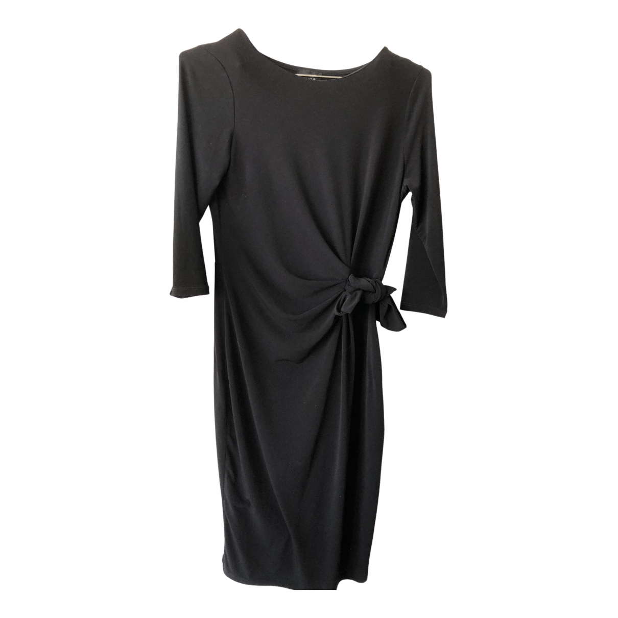 Non Signe / Unsigned \N Kleid in  Schwarz Synthetik