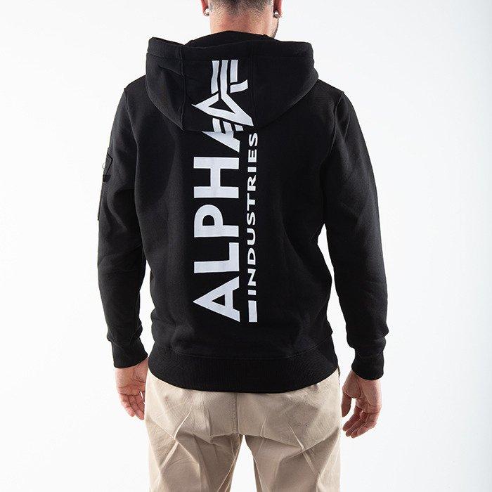 Alpha Industries Back Print Zip Hoody 128342 03