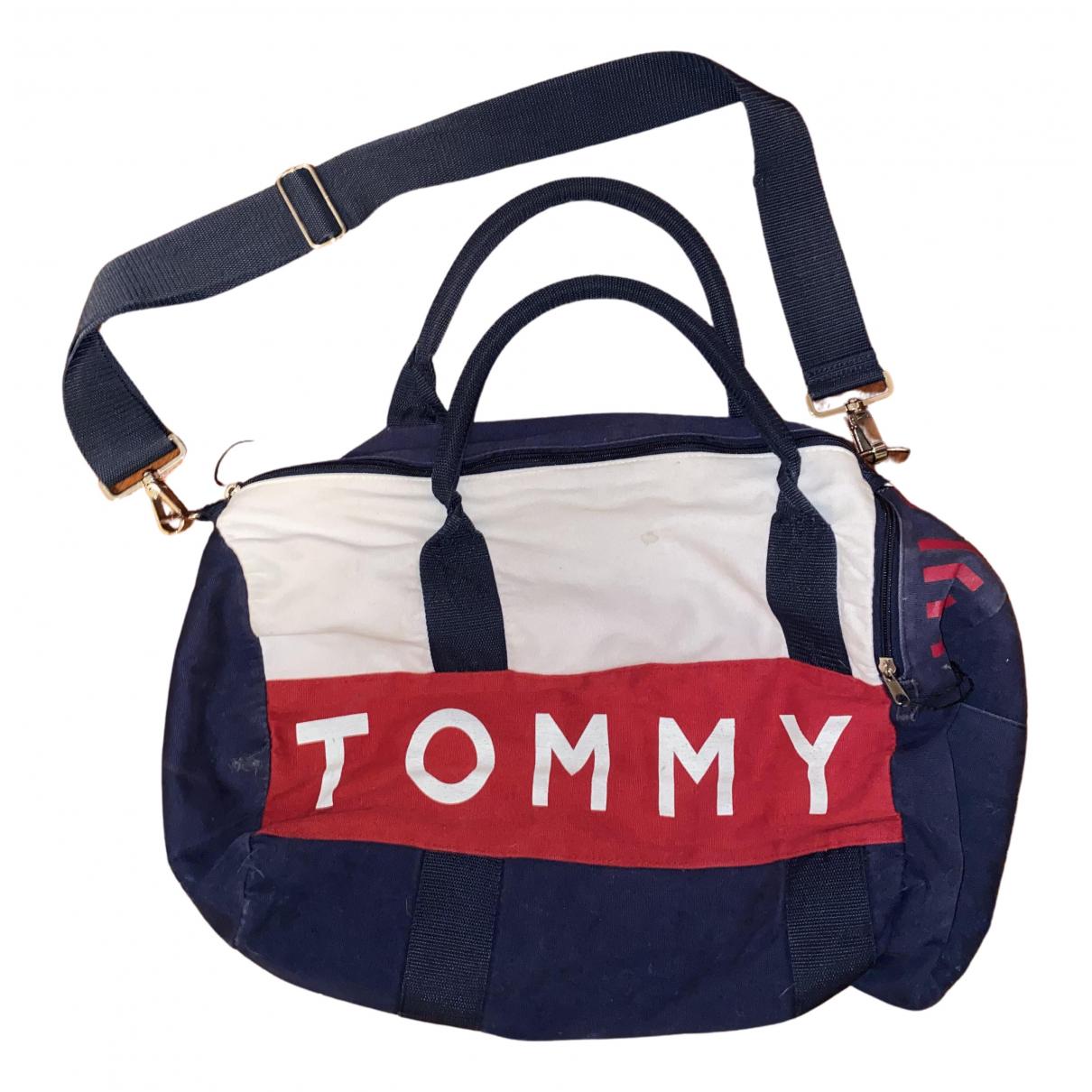 Tommy Hilfiger N Blue Cotton bag for Men N