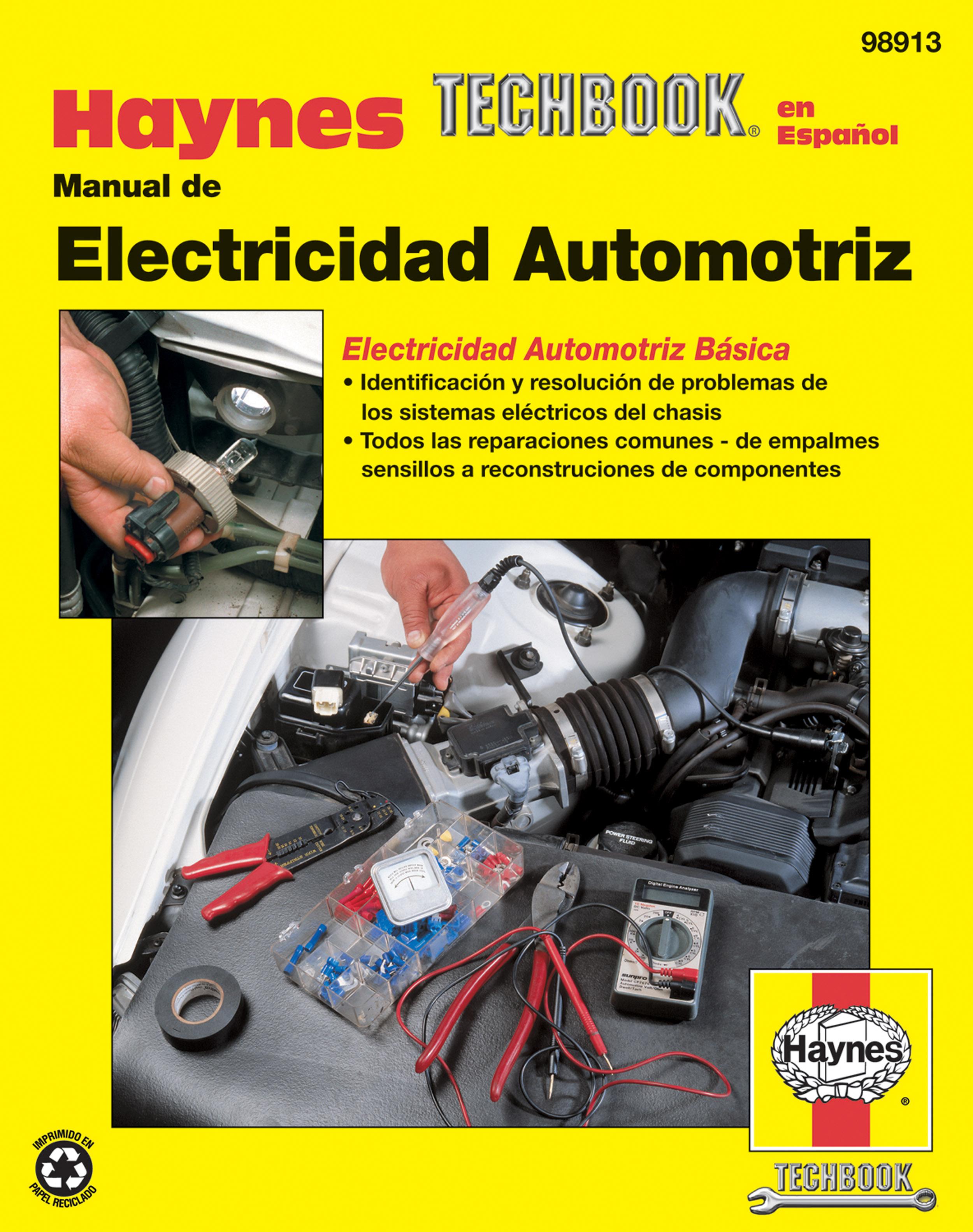Manual de Electricidad Automotriz Haynes Techbook (edición española)
