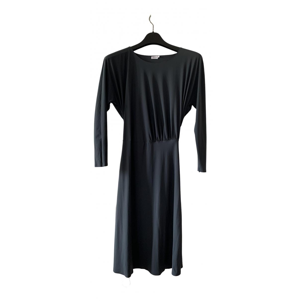 Filippa K - Robe   pour femme en coton - elasthane - bleu