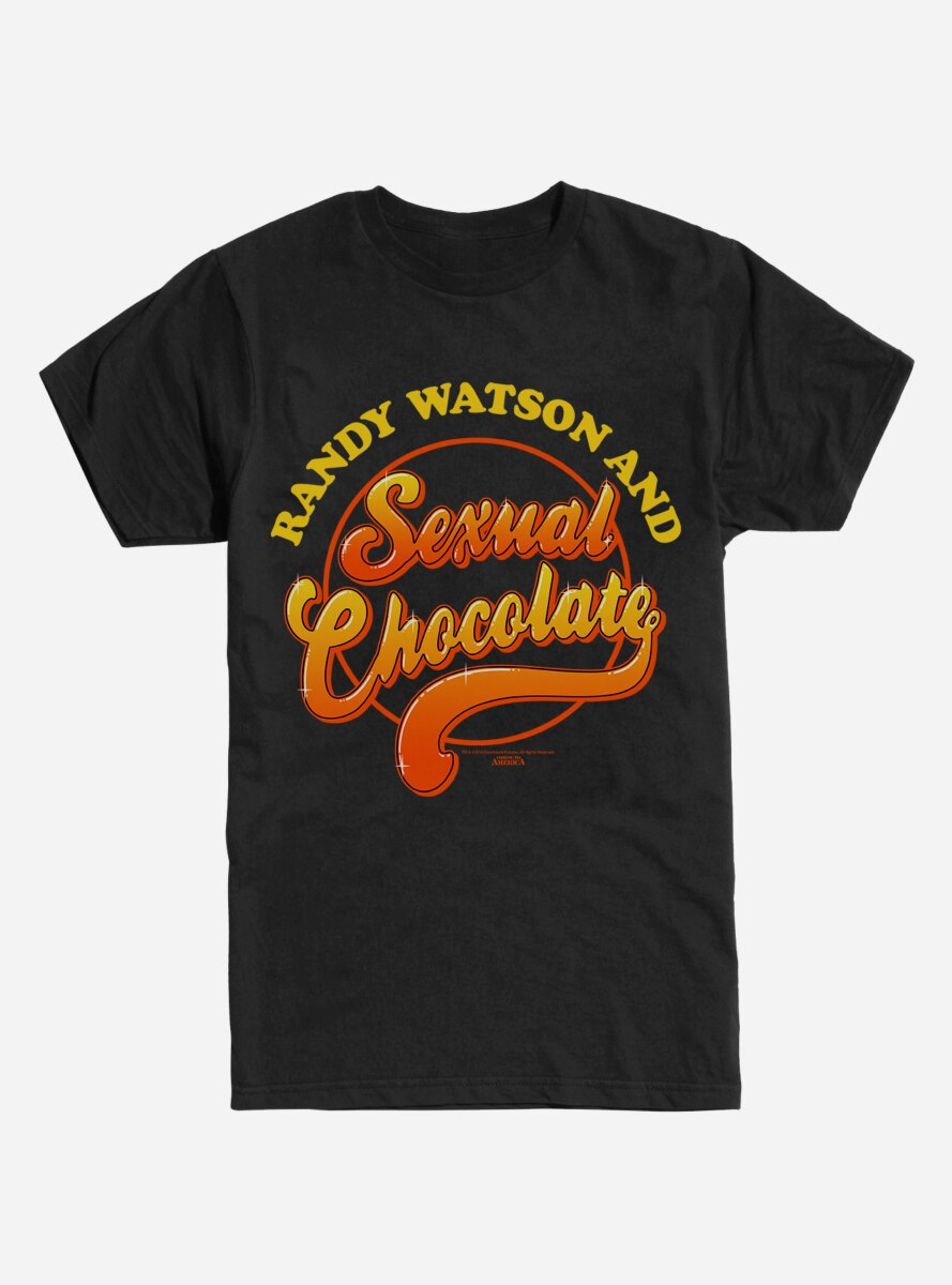 Coming to America Sexual Chocolate T-Shirt
