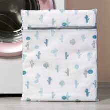 Bolsa de lavanderia con estampado de cactus