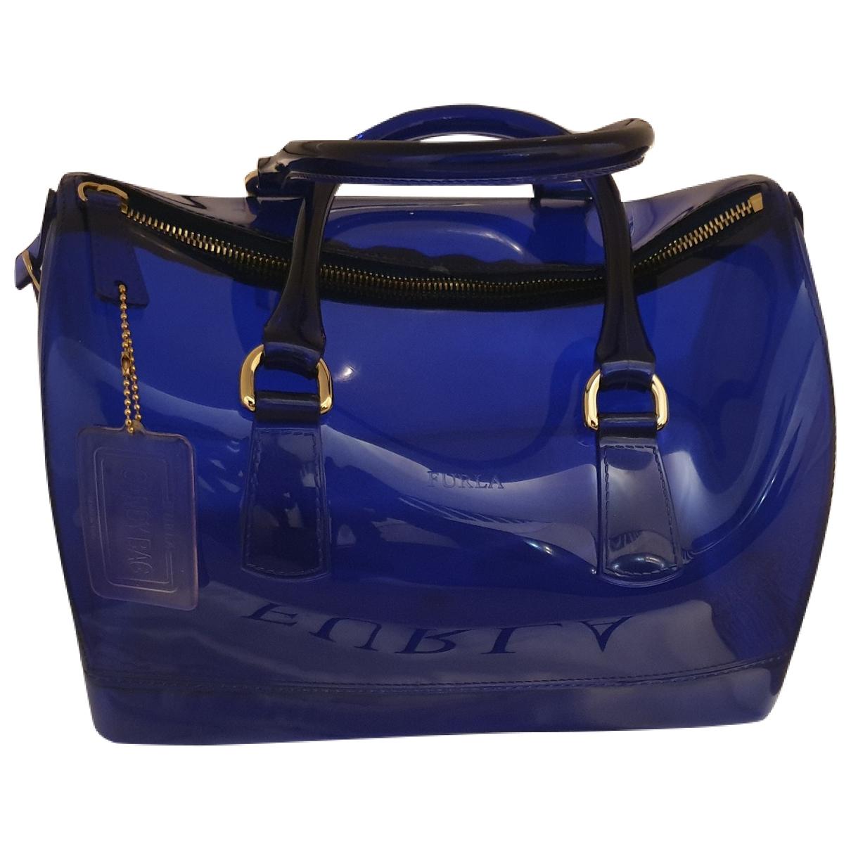 Furla Candy Bag Blue handbag for Women \N