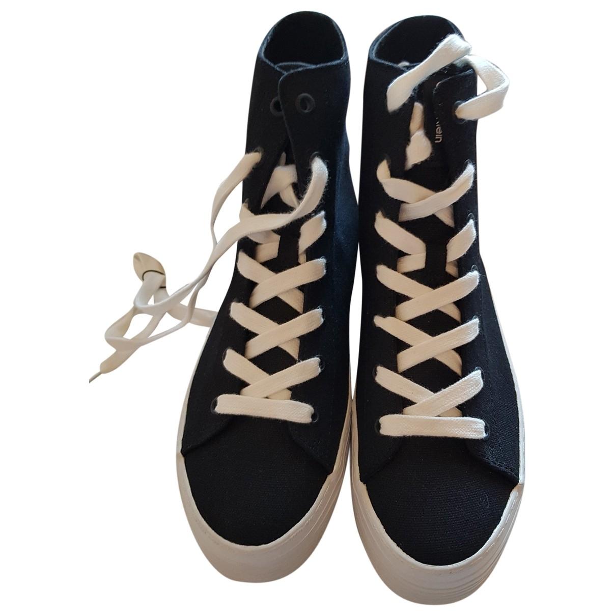 Calvin Klein \N Sneakers in  Schwarz Polyester