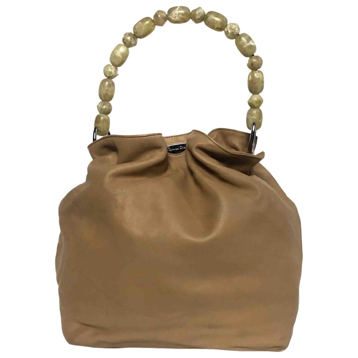 Christian Dior - Sac a main   pour femme en cuir
