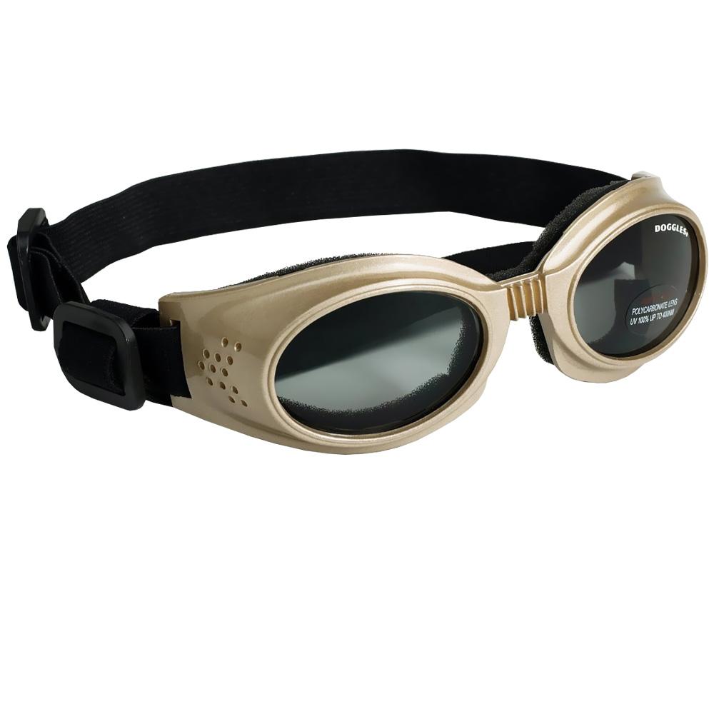 Doggles Originalz Chrome Frame Smoke Lens - Medium
