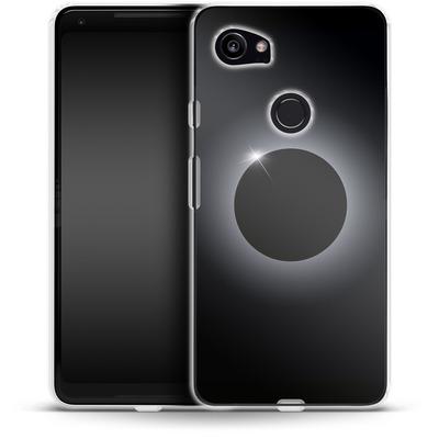 Google Pixel 2 XL Silikon Handyhuelle - Eclipse von caseable Designs