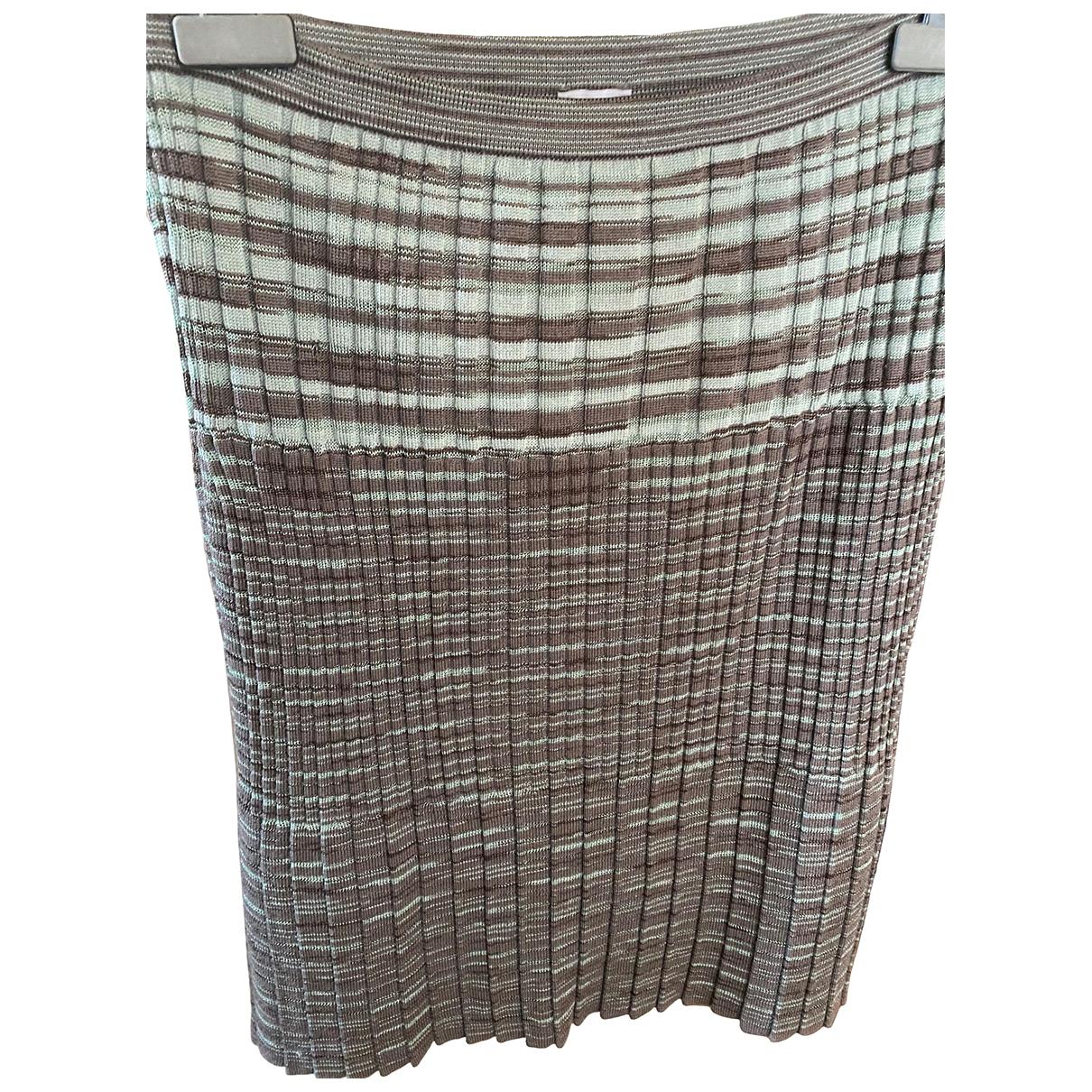 M Missoni - Jupe   pour femme en laine - multicolore