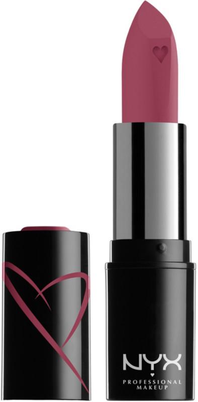 Shout Loud Satin Lipstick - Love Is A Drug (deep rose pink)