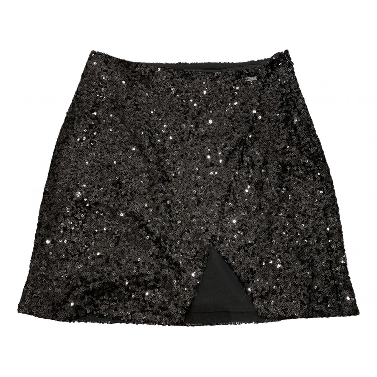 Emporio Armani \N Black Glitter skirt for Women 2 US