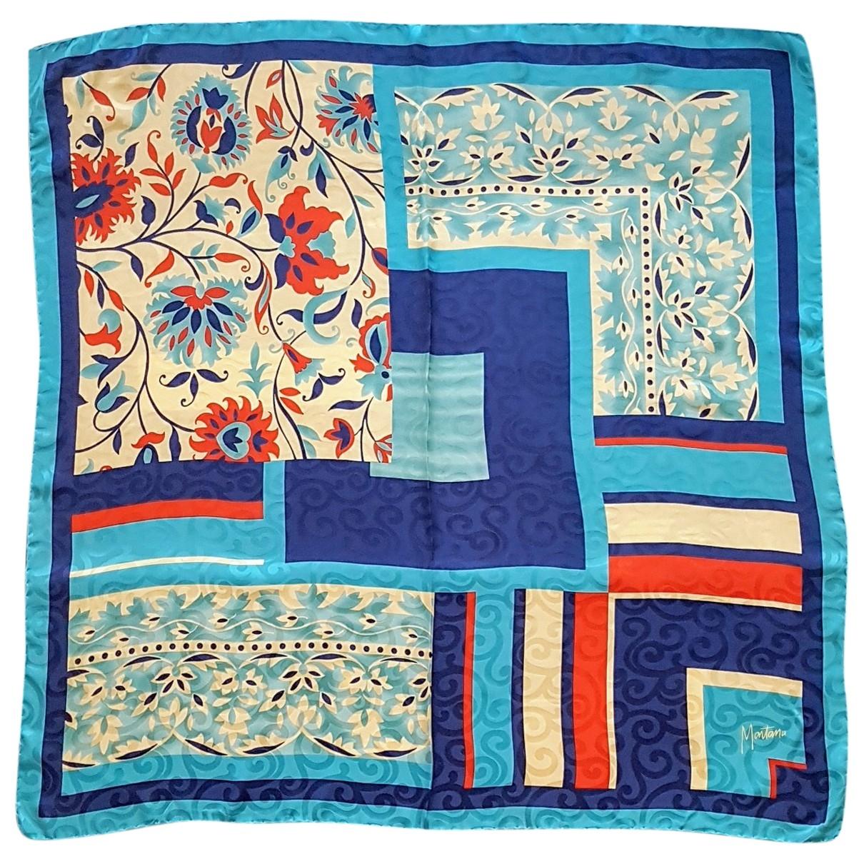 Claude Montana \N Multicolour Silk scarf for Women \N